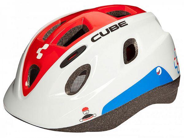 Cube Kid Børne Cykelhjelm Teamline (48-52 cm)