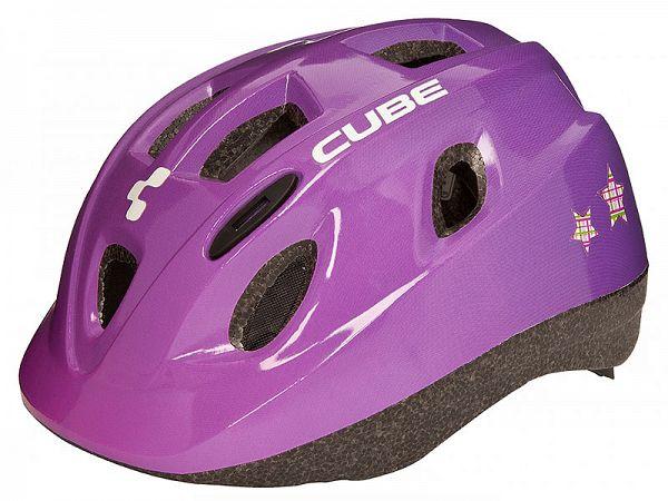 Cube Kids Børne Cykelhjelm Princess Pink (48-52 cm)