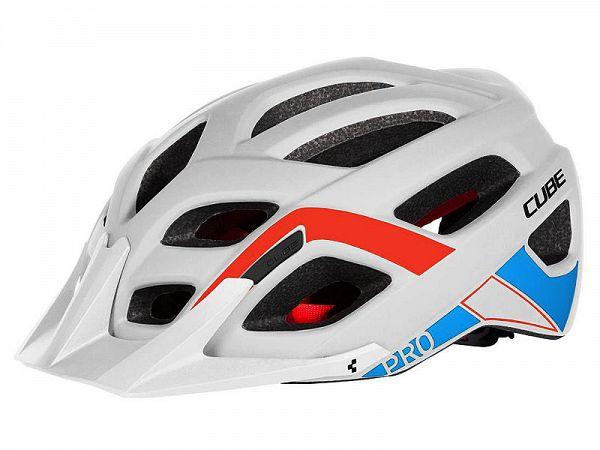 Cube Pro Cykelhjelm, Teamline White