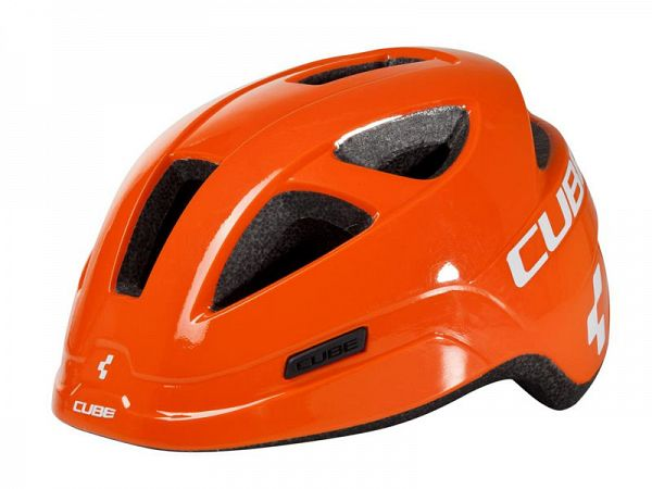 Cube Pro Junior Cykelhjelm Orange
