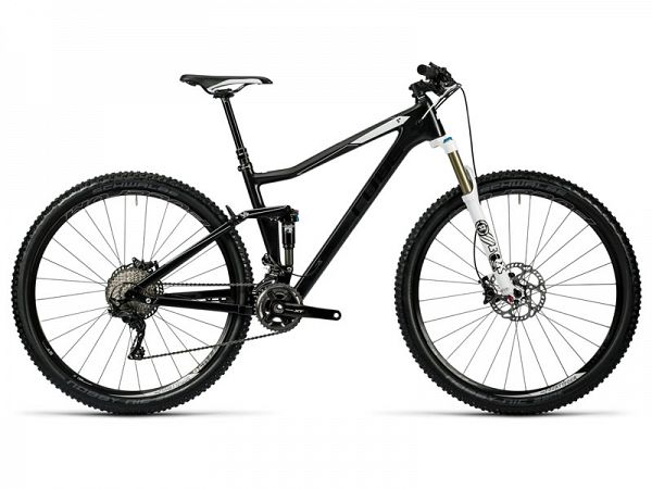 "Cube Stereo 120 HPC Race carbon and white, 27,5"", MTB, full suspension"