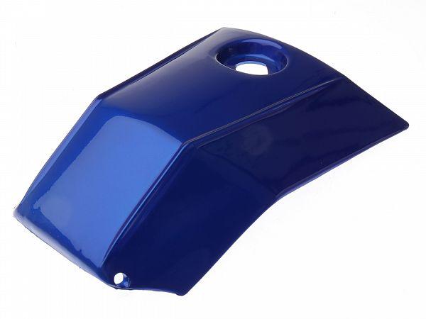 Dæksel til tank - metalblå