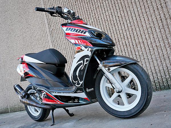 Decal kit - Voca Racing, red / white / black