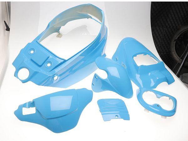 * DEMO * Shield set - Iceblue, 6 parts