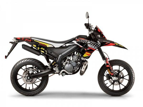 Derbi Senda Racing SM Euro4 - orange/sort - 30km/t