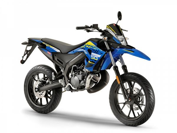 Derbi Senda X-Treme SM Euro4 - Yellow Blue - 30 km/t