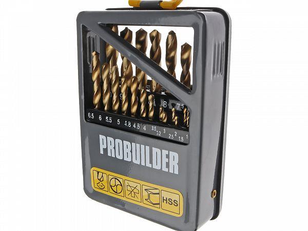 Drill set - ProBuilder, 21 parts