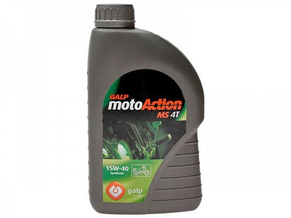 Engine Oil - Galp motoAction MS 4T 15W-40 - 1L