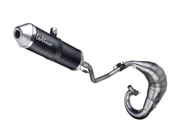 Exhaust - LeoVince Hand Made X-Fight - black