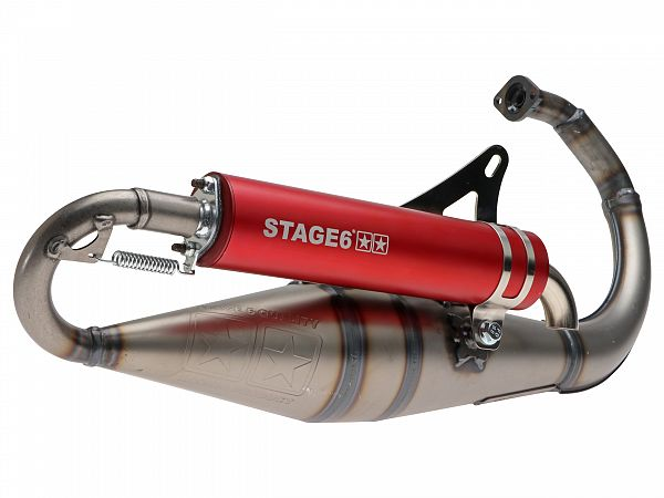Exhaust - Stage6 PRO REPLICA MkII, red