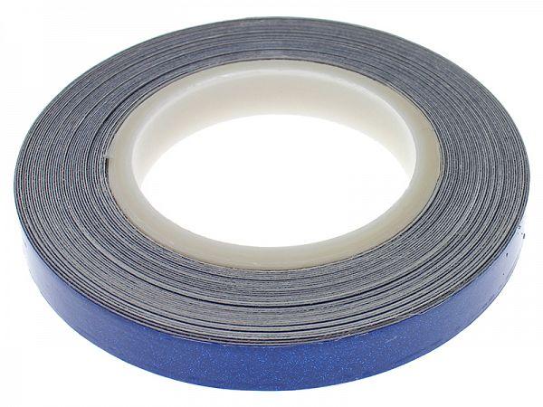Fælgbånd 7 x 6000mm - blå refleks