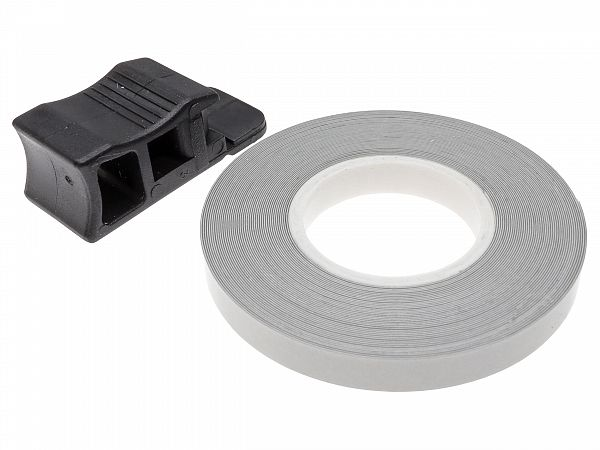 Fælgbånd 7 x 6000mm - Oxford - sølv refleks