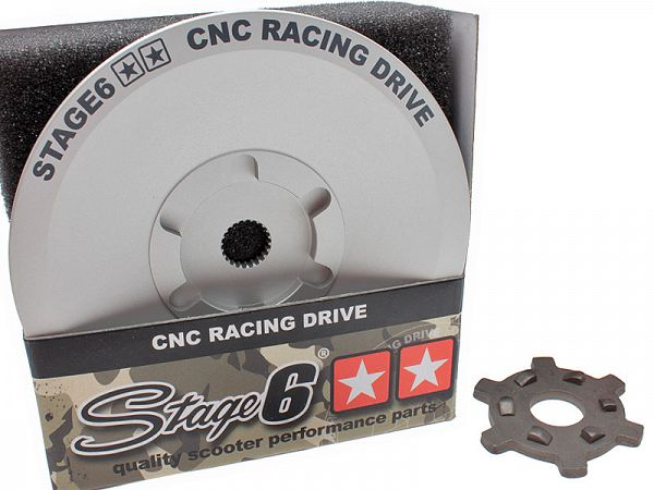 Fan wheels for variator - Stage6 CNC RACING Drive Face