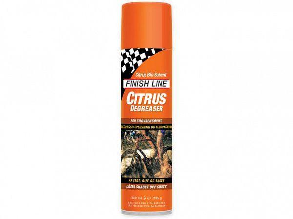 Finish Line Affedtningsmiddel/Degreaser Citrus 360 ml Orange