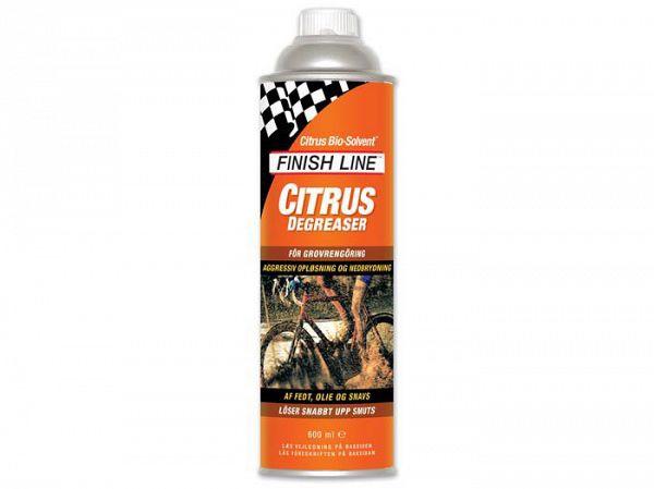 Finish Line Affedtningsmiddel/Degreaser Citrus 600 ml Orange