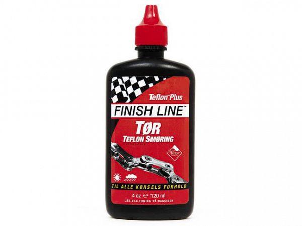 Finish Line Kædeolie Tørt Vejr Dry Lube Teflon 120 ml Rød