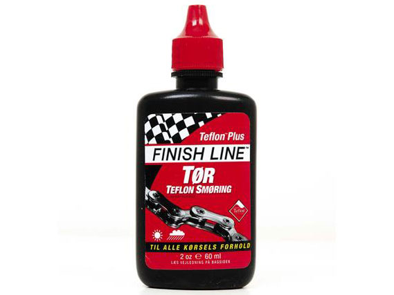 Finish Line Kædeolie Tørt Vejr Dry Lube Teflon 60 ml Rød