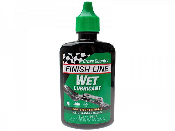 Finish Line Kædeolie Vådt Vejr Cross Country 60 ml Grøn