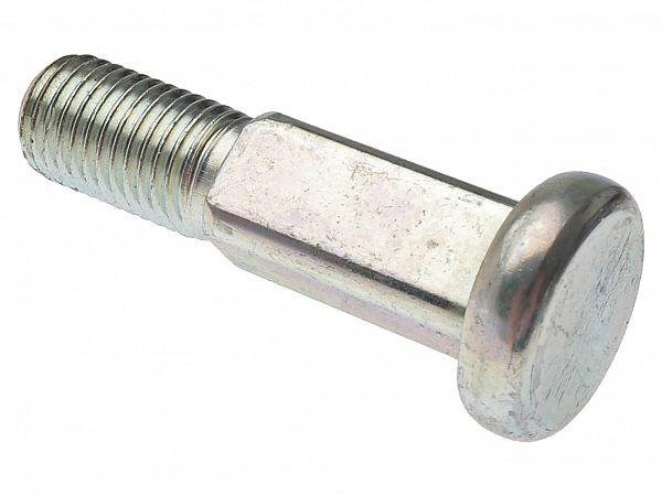 Firkantbolt til motorophæng ved stel - original
