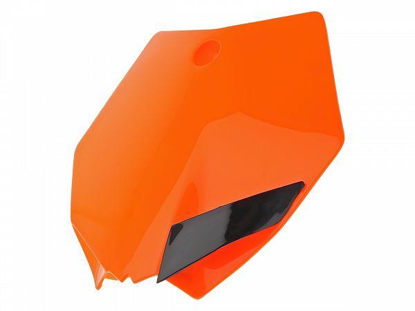 First plate - UFO - KTM style - orange
