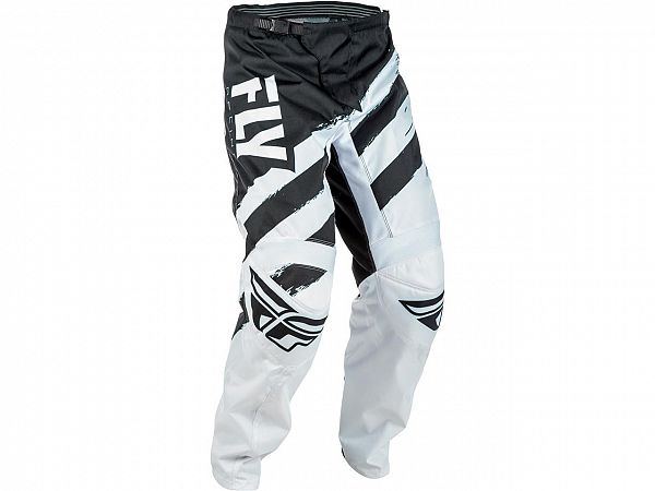 Fly F-16 Black/White BMX/MX Bukser
