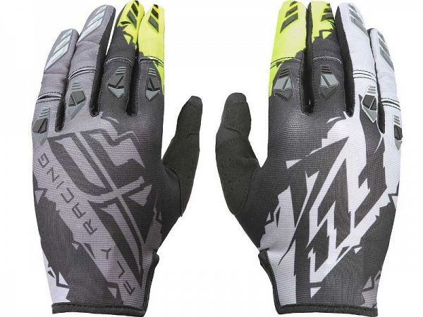 FLY Racing Kinetic BMX/Motocross Hi-Vis Handsker