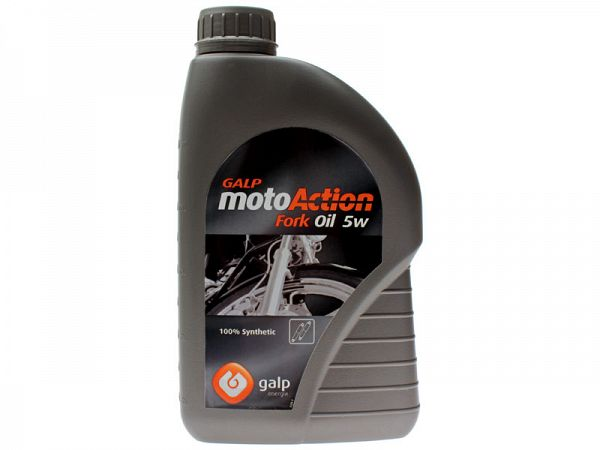 Forgaffelolie - Galp Moto Action Fork Oil 5W 1L