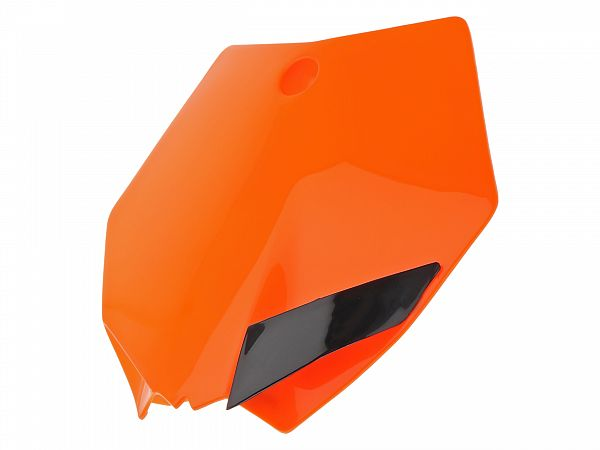 Fornummerplade - UFO - KTM style -  orange