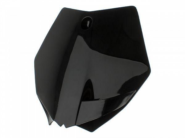 Fornummerplade - UFO - KTM style -  sort