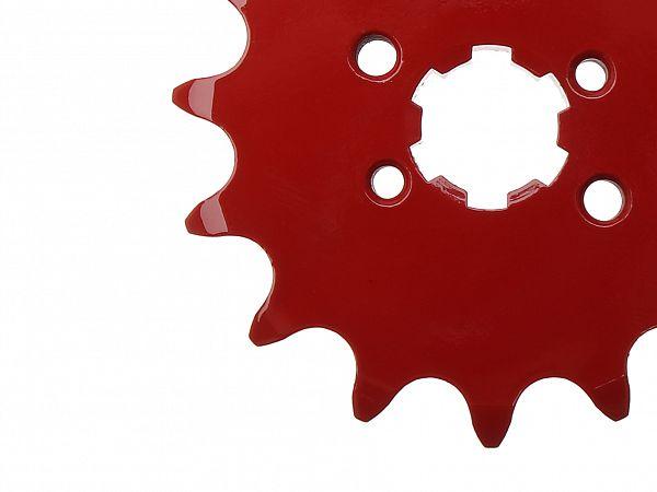 Fortandhjul - rød - TunR