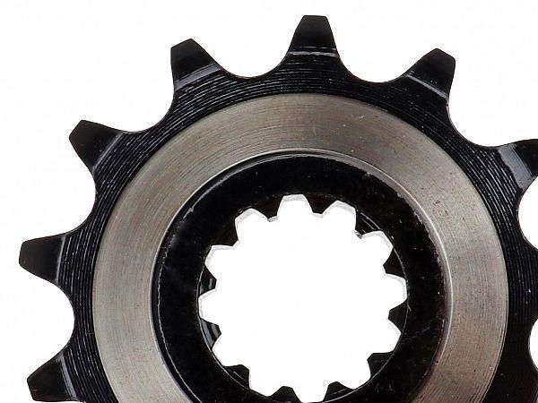 Fortandhjul - sort/sølv