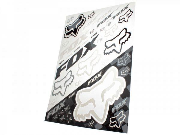 Fox Sticker Sheet Race Edition