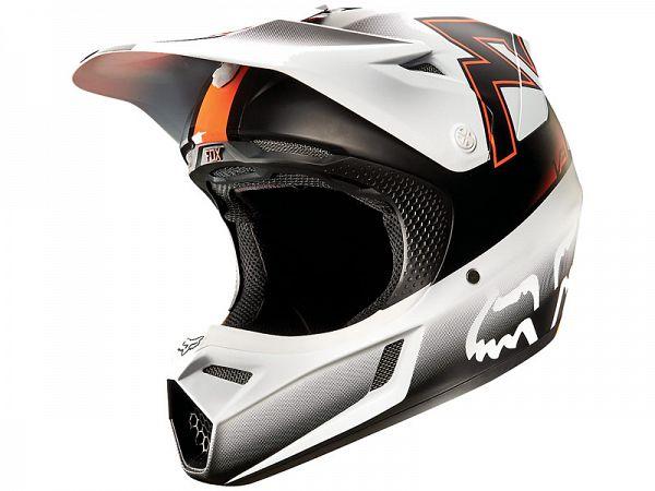Fox V3 Franchise Hjelm, orange