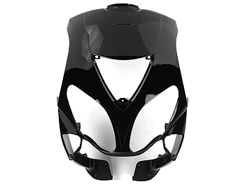 Front shield - black - original