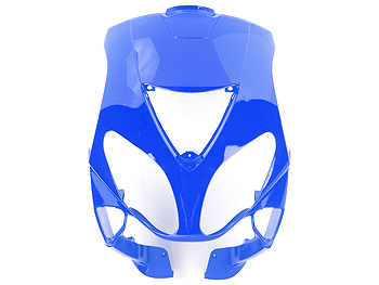 Front shield - blue