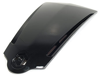 Front shield cover - black - original