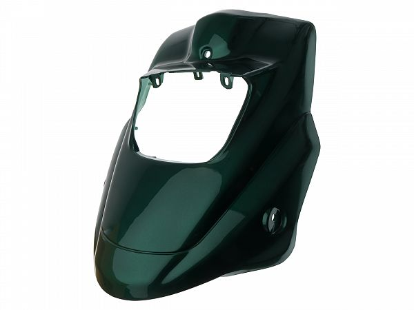 Front shield - metallic green