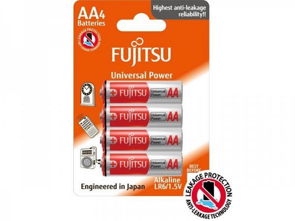 Fujitsu AA Batterier, 4 stk