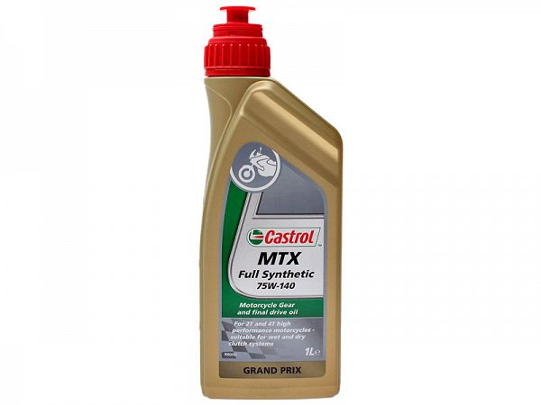 Gear oil - Castrol MTX 75W / 140