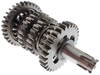 Gearaksel m. tandhjul - 6 gear - original