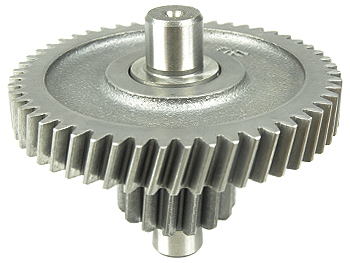 Gearaksel, mellemhjul - standard