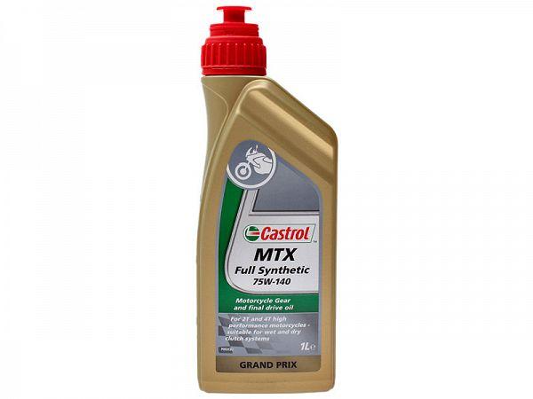 Gearolie - Castrol MTX 75W/140
