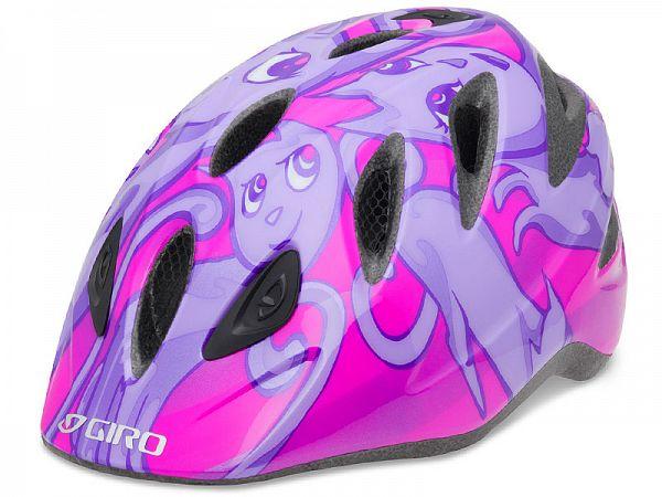 Giro Rascal Cykelhjelm Lilla/Lyserød (46-50 cm)