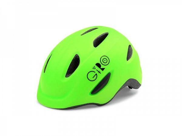 Giro Scamp Børne Cykelhjelm, Mat Lime