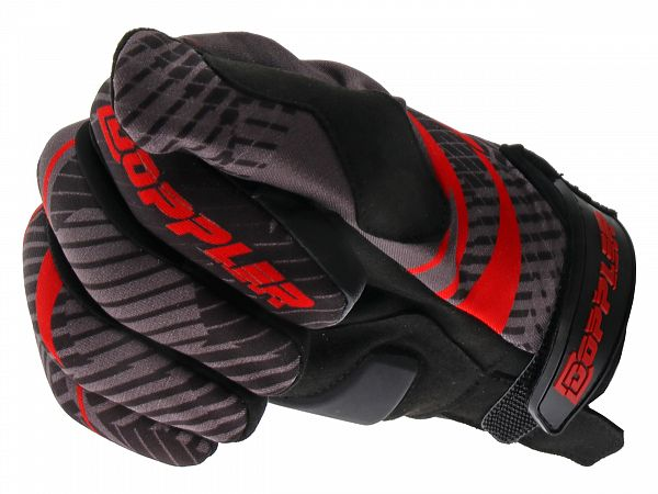 Gloves - Doppler - red / black