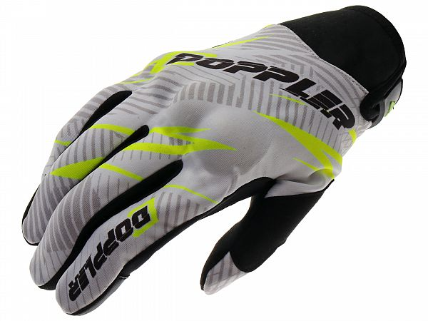 Gloves - Doppler - yellow / black