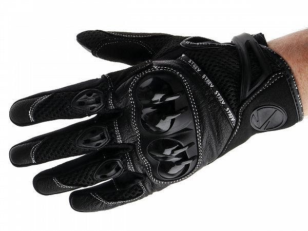 Gloves - Steev Superbike - black