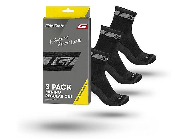 GripGrab Winter Sock 3-Pack Cykelstrømpe