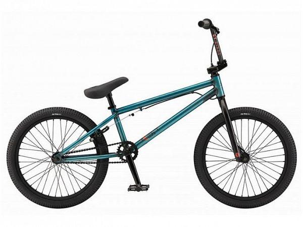 """GT Slammer 20"""" XL blå - BMX Freestyle - 2015"""