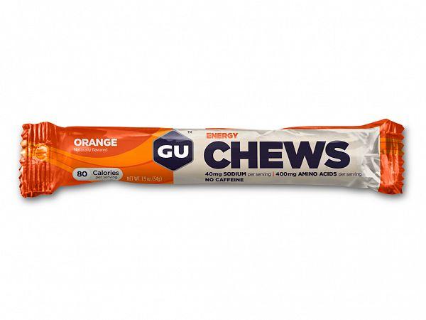 GU Energy Chews Orange Wine Gums, 8 pcs